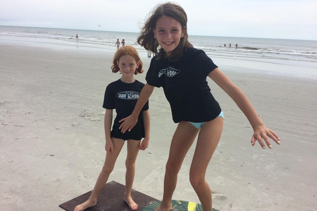 Molli Miller Surf School Pic